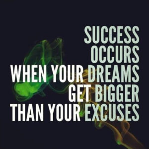 What's your favorite excuse?