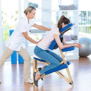 Read more about the article Chair Massage As A Promotional Tool