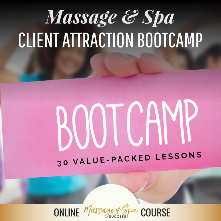 Read more about the article Testimonials for the Massage & Spa Client Attraction BootCamp