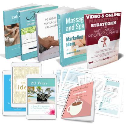 Massage and Spa Success Ebook Bundle, 2019