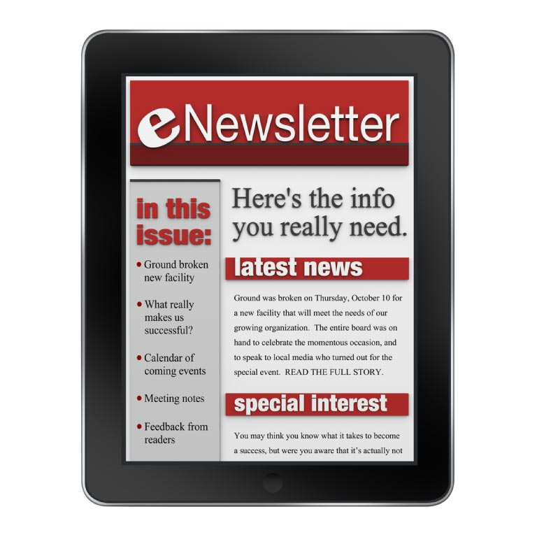 The importance of sending regular newsletters to massage and spa clients