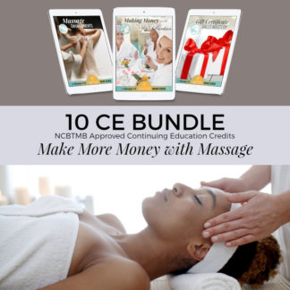 10 CE Bundle, Massage Package, NCBTMB Approved