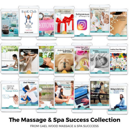 The Massage and Spa Success Collection from Gael Wood