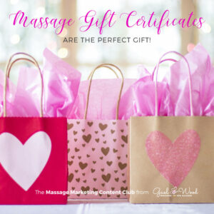 Four Tips to Boost Sales: Spa and Massage Gift Certificates