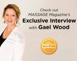 Massage Magazine's April All Star Gael Wood