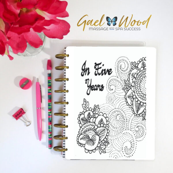 In Five Years Planner from Gael Wood