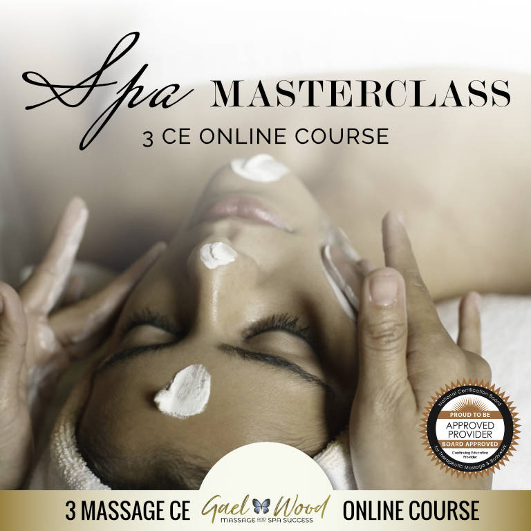 Spa Masterclass 3 CE Online Course, NCBTMB Approved