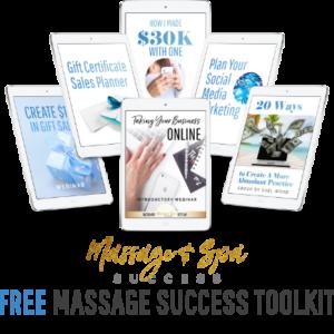 Free Massage Success Toolkit