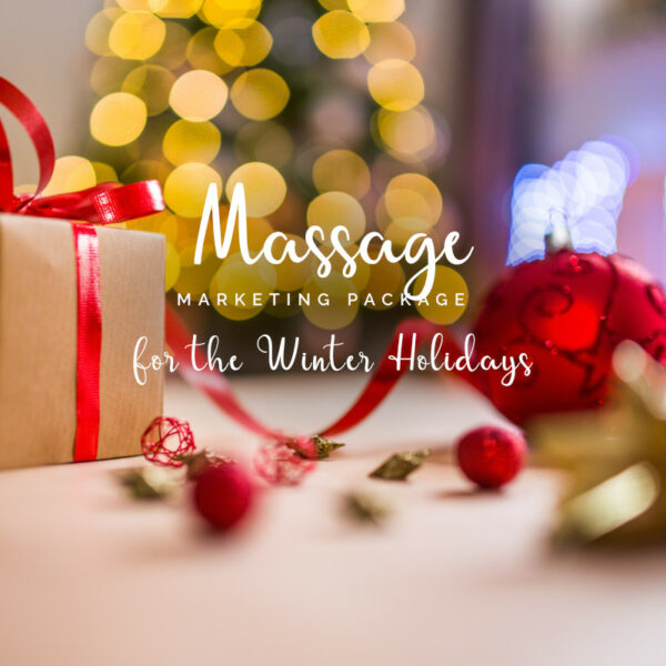 Massage Holiday Marketing Package